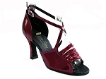 1651 Red Sparkle & Red Patent