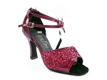 1659 Red Sparkle & Red Patent