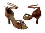 SERA1123 Dark Tan Satin