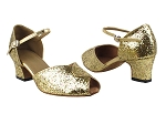 6028 184 Rainbow Sparkle_Gold PU Trim