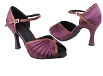 SERA3830 Purple Satin & Purple Scale Trim