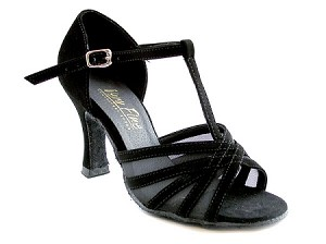"16612 Black Nubuck & Black Mesh with 3"" Heel in the photo"