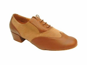 M100101 Coffee Brown & Brown Nubuck & Latin Heel