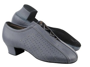 "S409 BC17 Grey Light Leather with 1.5"" heel in the photo"