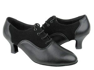 C1688 Black Leather  Black Nubuck