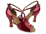 C1651 Red Sparkle & Red Patent