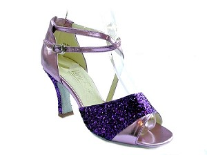 1659 Purple Sparkle & Purple Leather