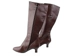 PP205 Boots Dark Tan Leather