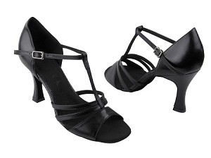"SERA1683 Black Leather with 3"" heel in the photo"