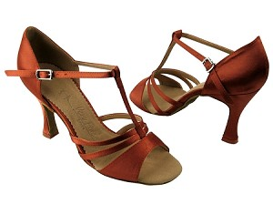 SERA1683 Dark Tan Satin